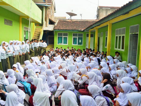 Masa Taarus Siswa MTs Islamiyah Sayang TP. 2017-2018