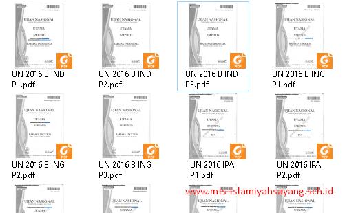 Download Kumpulan Soal UN SMP/MTs
