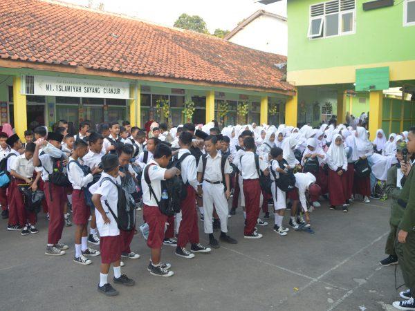 Hari Pertama MATSAMA MTs Islamiyah Sayang TP 2019/2020