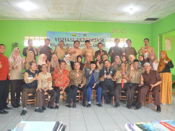 Visitasi Akreditasi MTs Islamiyah Sayang Tahun 2019