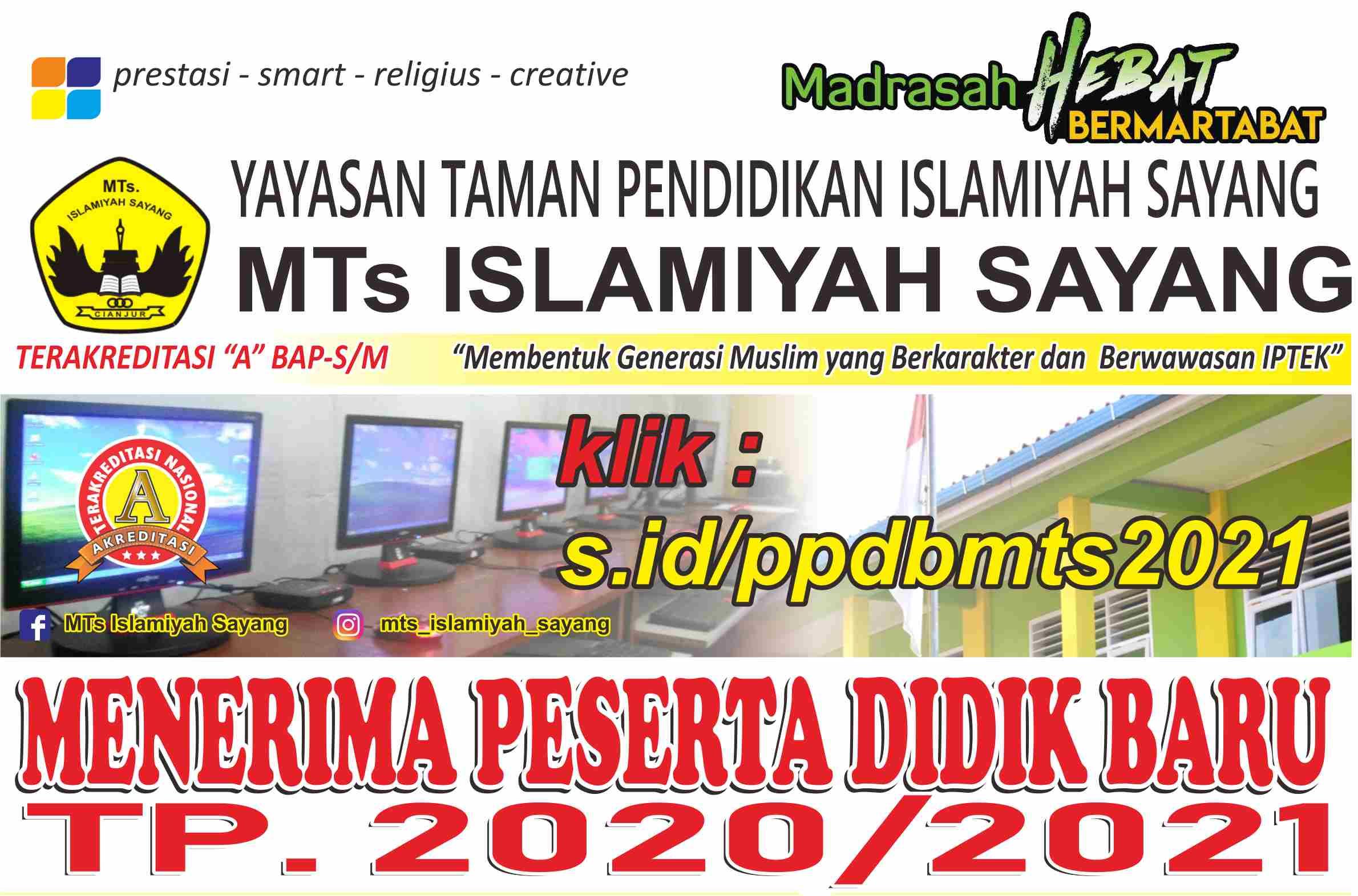 Penerimaan Peserta Didik Baru (PPDB) TP 2020-2021